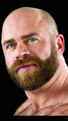 Hairy Men Heaven - txfurlover: TXFurLover - for the love of fur in. Beard And Mustache Styles, Beard Styles For Men, Beard No Mustache, Hair And Beard Styles, Bald With Beard, Red Beard, Bald Men, Scruffy Men, Hairy Men