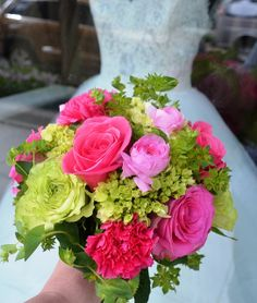 pink and green wedding bouquets | Pink and Green Wedding Bouquet | Flickr - Photo Sharing!