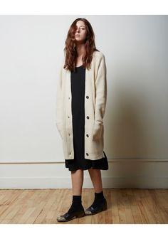 La Garconne Moderne  Malin Merino Cashmere Cardigan | La Garconne