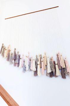 honestly-wtf:   DIY Tassel Wall Hanging|... | Etsy