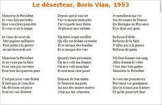 Boris Vian - Boris Vian, Blues, Album, Lyrics, Music, Texts, Card Book