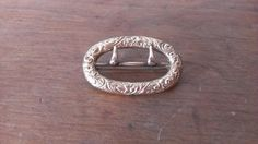 Antique Gold Filled Sash Buckle Pin Victorian by FillaDeeGree