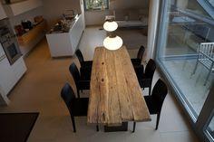 Zwinz Tisch Altholz Eiche massiv gebürstet