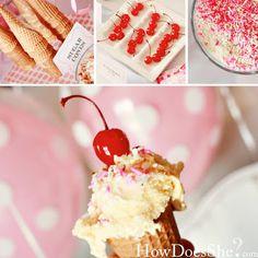 1512c018b39 pink Party Food Buffet, Hello Kitty Birthday, Girl Birthday, Birthday  Ideas, Sundae