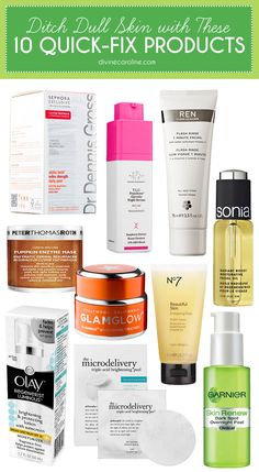 Feel like your skin's been a little lifeless lately? Here are a few of our favorite products designed to help you get your glow back. #SkinCare #Beauty