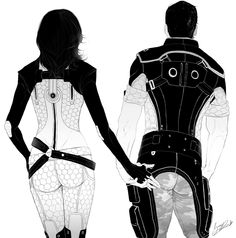 фэндомы,Mass Effect,ME art,Игры,Miranda Lawson,Kaidan