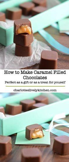 Chocolate Sweets, Homemade Chocolate, Chocolate Recipes, Chocolate Making, Chocolate Molds, Candy Recipes, Sweet Recipes, Dessert Recipes, Just Desserts