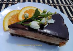 Una mariposa en mi cocina: Tarta mousse de naranja y chocolate Chocolate, Cheesecake, Food And Drink, Pudding, Desserts, Homemade Candy Recipes, Sweet Recipes, Deserts, Meals