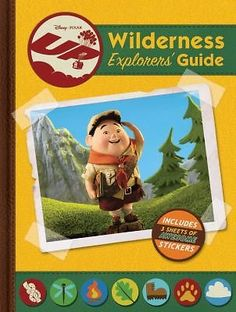 Up Wilderness Explorers Guide By Ellie ORyan Hardcover
