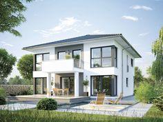 CityLife 600 - #Einfamilienhaus von WeberHaus GmbH & Co. KG | HausXXL #Fertighaus #Energiesparhaus  #modern #Zeltdach