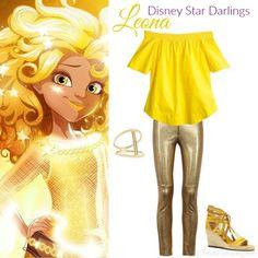 Disneybound by princessjace - Disney Star Darlings Leona Disneybounding