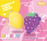 iBloom Fruit Squishies - Scented!