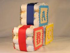 Image result for alphabet block themed baby shower