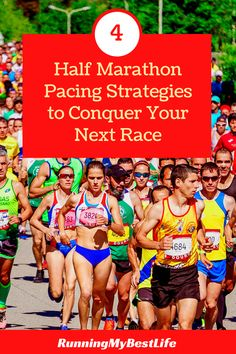 Pace your half marathon with a smart strategy to help ensure you have a successful race. By planning your pace, you keep enough energy to reach the finish. #halfmarathon #racedaytips #halfmarathonpacing