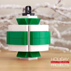 Holiday Build-it-Yourself 2013: The Spearmint. Get the guide at http://chrismcveigh.com