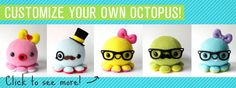 Awesome site for cute stuff things plus they have patterns free to help you make your own....<3
