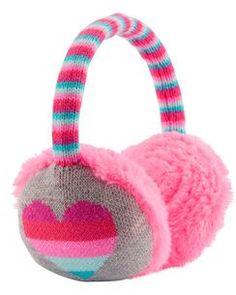 Rainbow Heart Earmuffs Cute Headphones, Girl With Headphones, Girls Accessories, Jewelry Accessories, Kids Girls, Cute Girls, Cartoon Ears, Tulle Headband, Jojo Siwa Birthday