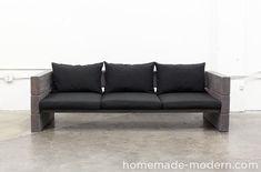 HomeMade Modern DIY EP70 Outdoor Sofa Options