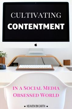Do you feel robbed of contentment and joy every time you visit social media? Check out these three practical tips you can implement to protect your heart and cultivate contentment in a social media obsessed world