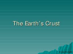 This Earths Crust PowerPoint Presentation has 31 slides on the following topics: The Earth's Crust, Earthquakes, Measuring Earthquakes, Mercalli vs. Richter Scale, Seismic Waves, An Earthquake's Epicenter, Earthquake Origin Time, The Earth's Layers, Earthquake Shadow Zones, Earthquake P-wave Shadow Zones, The 'Ring of Fire', Seismic Hazards, Volcanic Hazards, Continental Drift, Evidence from the Oceans, Plate Tectonics, Plate Boundaries, What Moves the Plates?, Hot Spots. $