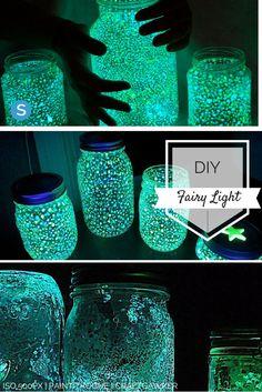 Easy tutorial to make your own Fairy Light out of a mason jar. http://simplemost.com/easy-diy-make-mason-jar-fairy-lights-with-your-children-2016-05?utm_campaign=social-account&utm_source=pinterest.com&utm_medium=organic&utm_content=pin-description More on good ideas and DIY