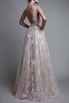 New Arrival A-line V-neck Long Tulle Prom Dress Wedding DressMy email: modsele.com@hotmail.com1. Besides the picutre color, you can choose any color you want.2. Besides stand size 2-16, we still offer..