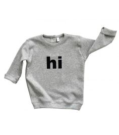 Sweater Grey Hi