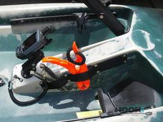 Custom Gear Holder by HOOK 1 - Kayak Fishing Gear