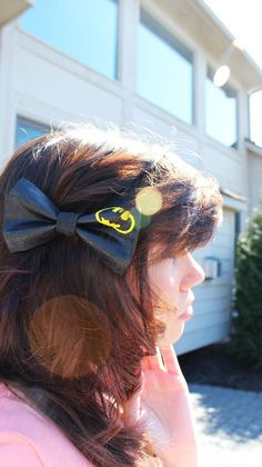 Batman Bow!! Its so awesome. Was our top seller in the bows department at Shutocon!!