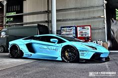 Liberty Walk Lamborghini Aventador first images released 2014 Lamborghini Aventador, Carros Lamborghini, Sports Cars Lamborghini, Ferrari, Cool Sports Cars, Sport Cars, Cool Cars, Liberty Walk Cars, Dream Cars