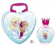 DISNEY FROZEN GIFT SET GIRL KIDS PERFUME PARFUM 3.4 EDT Children Fragrance NIB