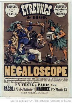 Appareil photo stéréoscopique, le mégaloscope, 1860.