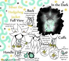 Silver the Hedgehog Jacket by chi171812.deviantart.com on @deviantART
