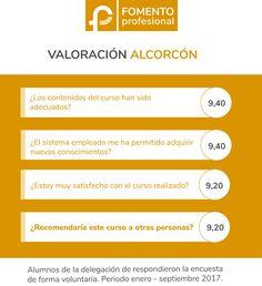 Fomento Profesional Alcorcón. Opiniones