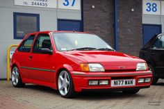 Ford fiesta turbo Ford Motorsport, Ford Rs, Ford Sierra, Cars Uk, Ford Capri, Ford Classic Cars, Ford Escort, Ford Motor Company, Retro Cars