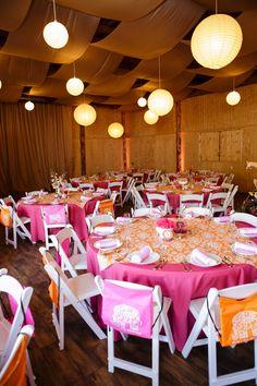 Ava's Bat Mitzvah | Eppich Photography, #pink&orange, #indiantheme