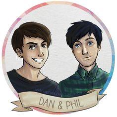 dan and phil fanart - Google Search