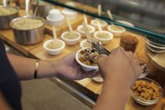 Wolfgang Puck Catering also offers a variety ofenergizing snack options withbrain-boosting foods such as almonds,walnuts, and flax seeds....