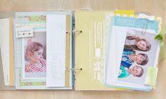 buffer layer wallet embossed wood hot - mini album