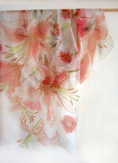 Ersy: Handpainted scarf