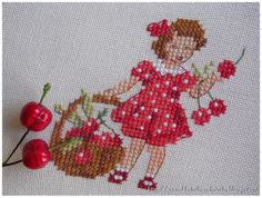 Вишневый процесс ♥ Cherry Stitches
