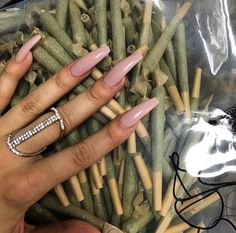nails, weed, and green image