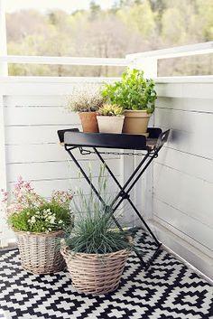 Tipsy Tessie: På balkongen