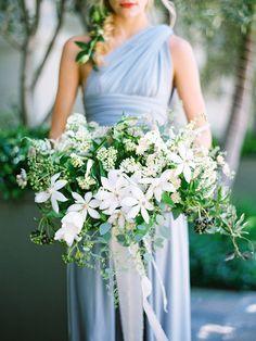 HOME & GARDEN: Un mariage en bleu !