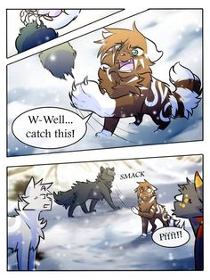 DeviantArt is the world's largest online social community for artists and art enthusiasts, allowing people to connect through the creation and sharing of art. Warrior Cats Funny, Warrior Cats Comics, Warrior Cat Drawings, Warrior Cats Fan Art, Cat Comics, Anime Comics, Anime Furry, Anime Wolf, Bff Quotes Funny