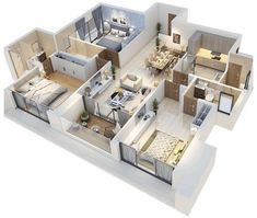 House Plans Mansion, Model House Plan, Sims House Plans, House Layout Plans, Cottage House Plans, House Layouts, Small House Plans, House Floor Plans, Home Building Design