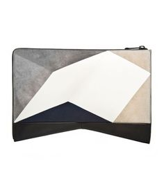 Narciso Rodriguez Graphic Intarsia Clutch