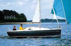 """The Sun 2000 is a 20'4"""" coastal monohull sailboat designed by Olivier Petit. She was built by Jeanneau (France) and made of monolithic ..."""
