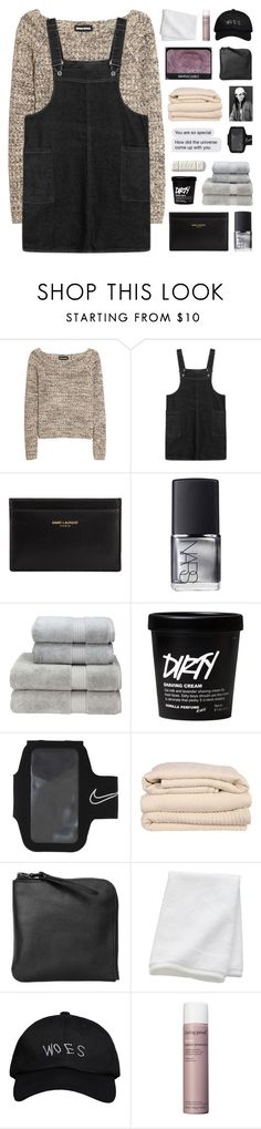 """""""BABY WE'RE JUST RECKLESS KIDS"""" by nxstalgia ❤ liked on Polyvore featuring Sonia Rykiel, Yves Saint Laurent, NARS Cosmetics, Christy, NIKE, Brahms Mount, Xenab Lone, CB2, October's Very Own and Living Proof"""