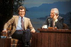 "Believe it or not, Letterman was inspired to go into the world of late night talk shows after appearing as a guest on ""The Tonight Show"" back when Johnny Carson still hosted it."